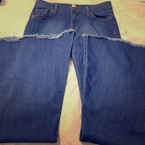 Free People Super Flare Jeans - Size 28